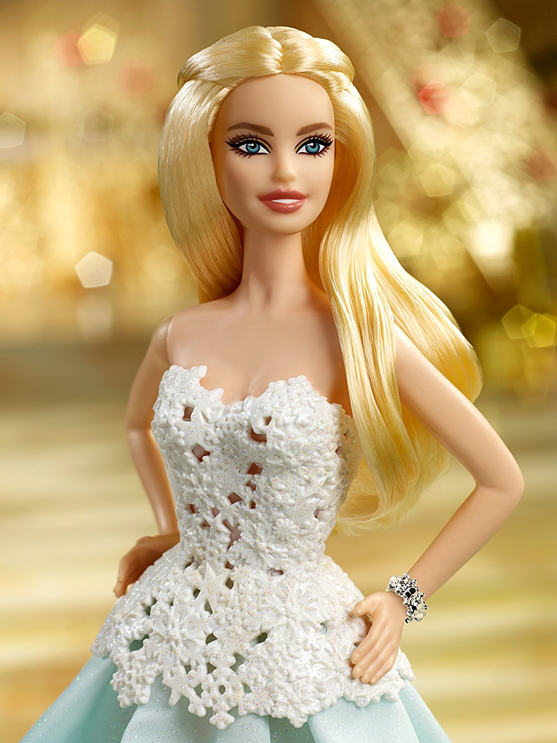 the price of becoming a barbie doll 'everybody's gonna pay a price': who dreamed of her becoming a human doll as a 'human ken doll' and he dreamed of turning her into a curvy barbie doll.