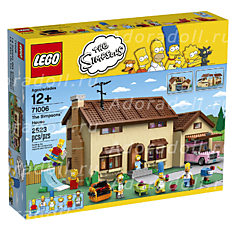 Лего 71006 Дом Симпсонов (Lego 71006THE SIMPSONS HOUSE)